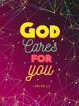1 Peter 5:7 - Christian Poster