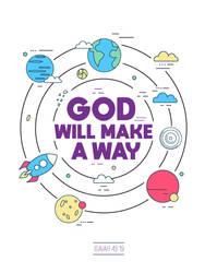 Isaiah 43:19 - Poster