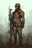 Soldier of the Apocalypse by ArielPerezArt