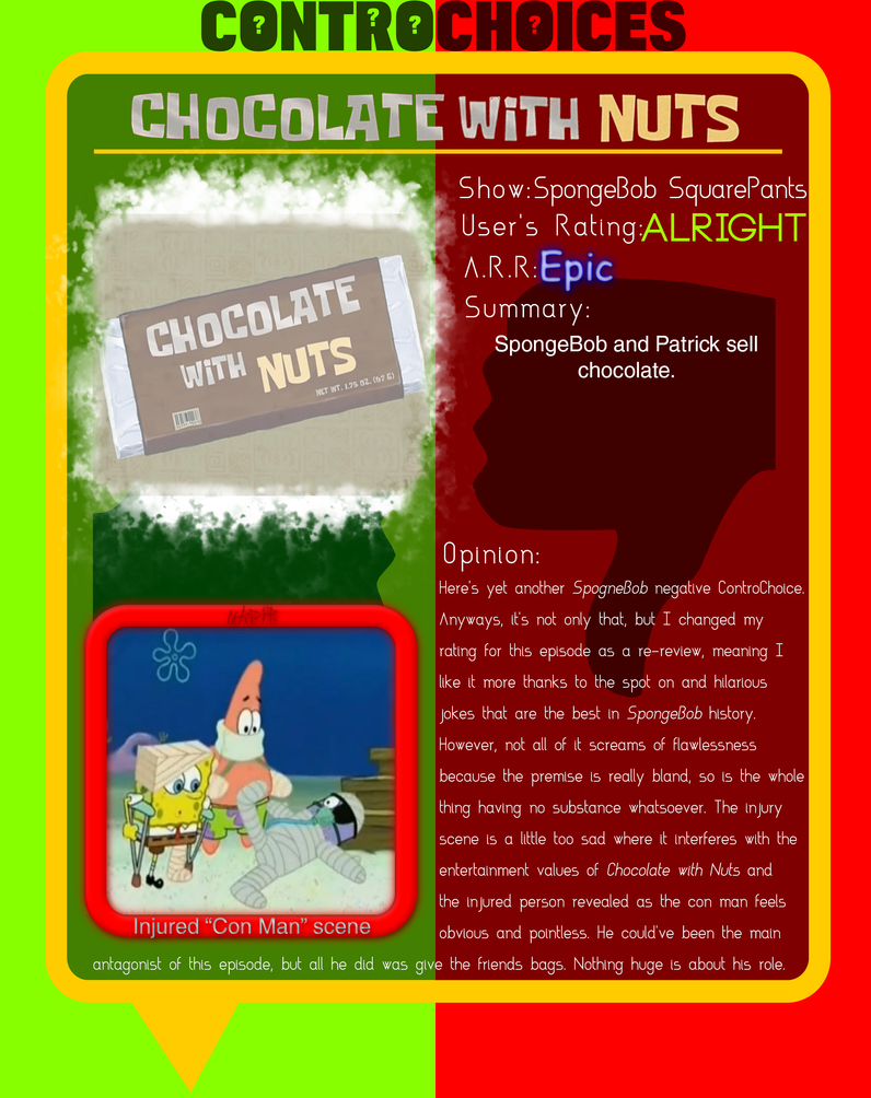 ControChoices - Chocolate With Nuts by Intrancity on DeviantArt