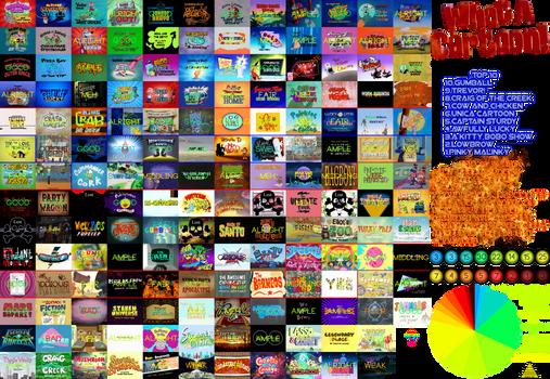 Almost Complete Cartoon Network Pilots Scorecard
