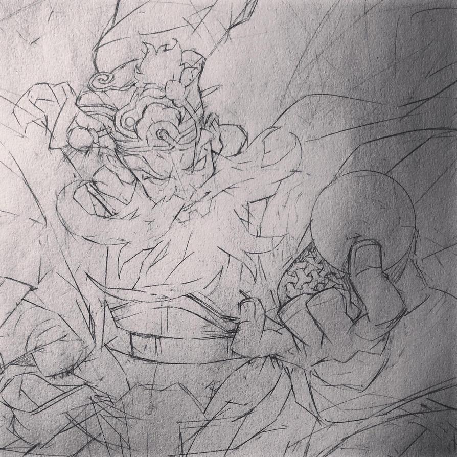 Sketch 01 by HangZhi-comic