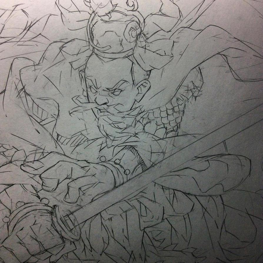 Sketch 02 by HangZhi-comic