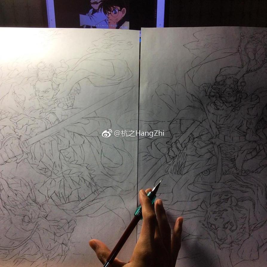 Sketch 03 by HangZhi-comic