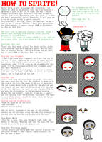 Basic Spriting Tutorial 1: The Face by DeepSeaHorror