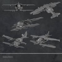 Biplane by sankalp23