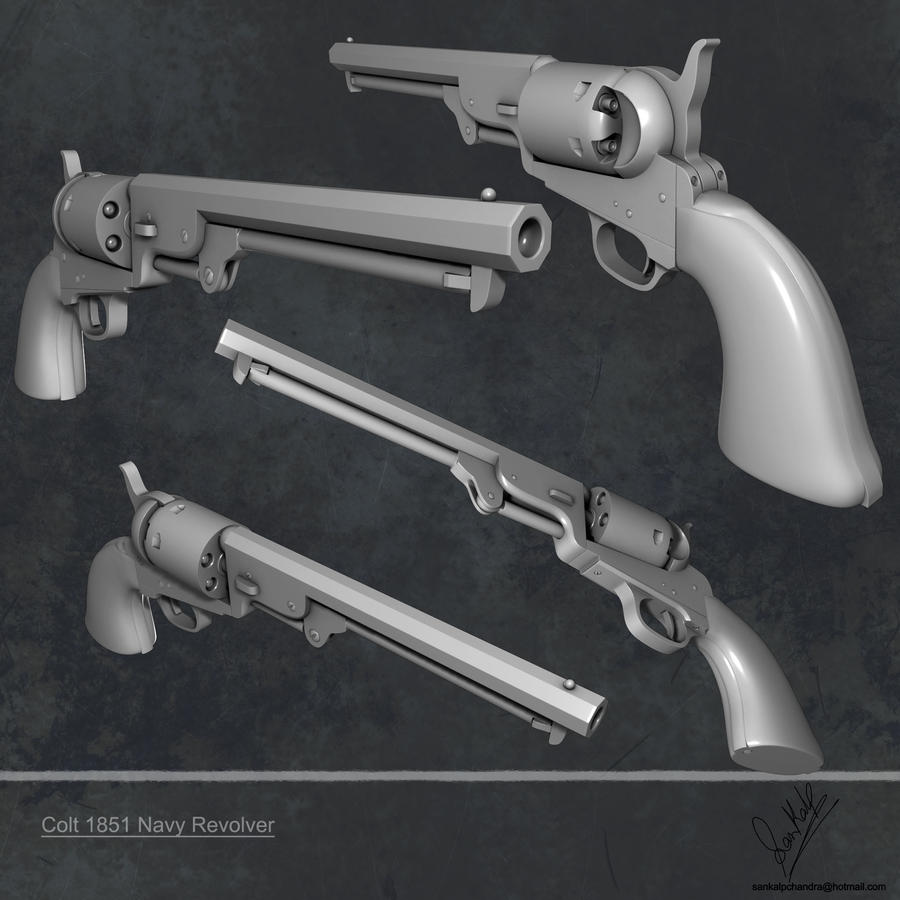 Colt Revolver 1851 Colt 1851 Navy Revolver