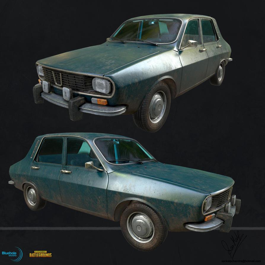 PUBG Dacia 1300 LP 01 by sankalp23
