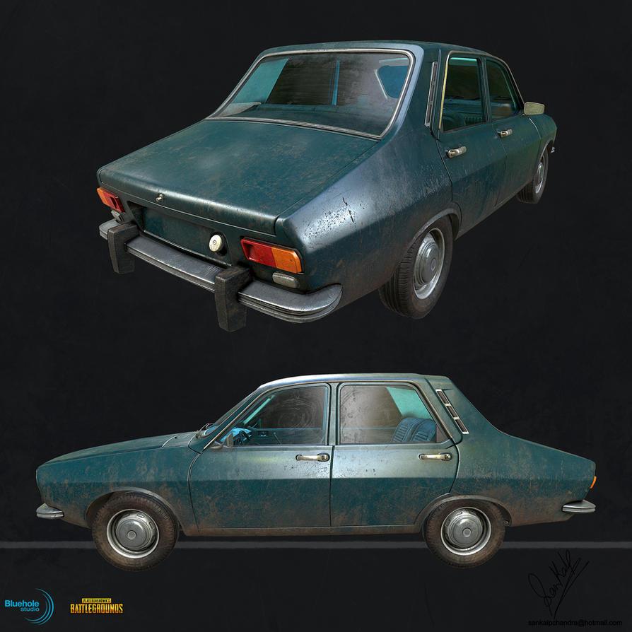 PUBG Dacia 1300 LP 02 by sankalp23