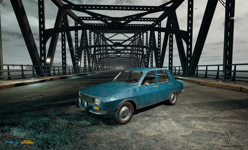 PUBG Dacia 1300 LP ingame by sankalp23
