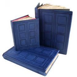 TARDIS Journals by Skribbles