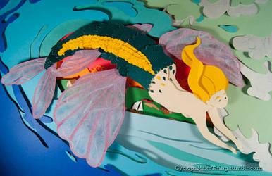 Flying Fish by Skribbles