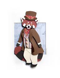Mr. Red Panda by Skribbles