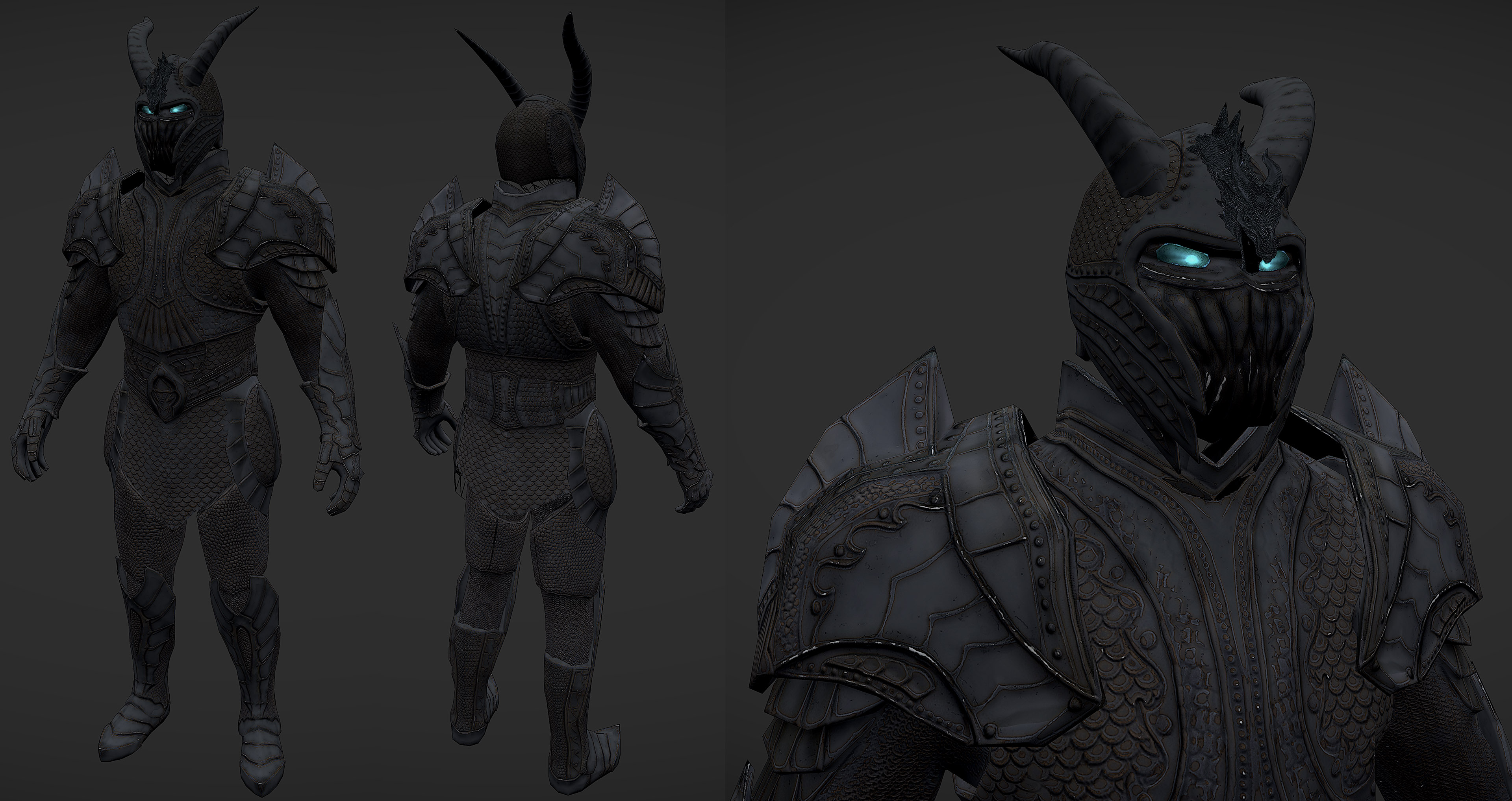 Ancient Dragon Knight Armor V2 By Newermind43 On Deviantart Basically just a normal knight with some spellsword mixed in; ancient dragon knight armor v2 by