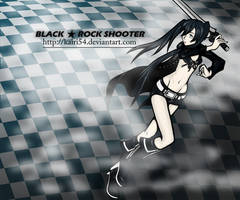 Black Rock Shooter by Eitae