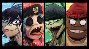 -Select your Player- Gorillaz