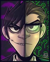 Message Man - Gotham by Ashesfordayz