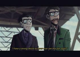 The Pier - screenshot redraw - Gotham by Ashesfordayz