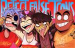 Reject False Icons - Gorillaz (+Speedpaint)