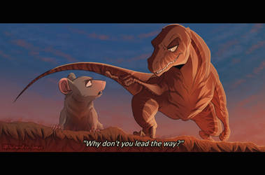 Rattrap and Dinobot    Beast Wars