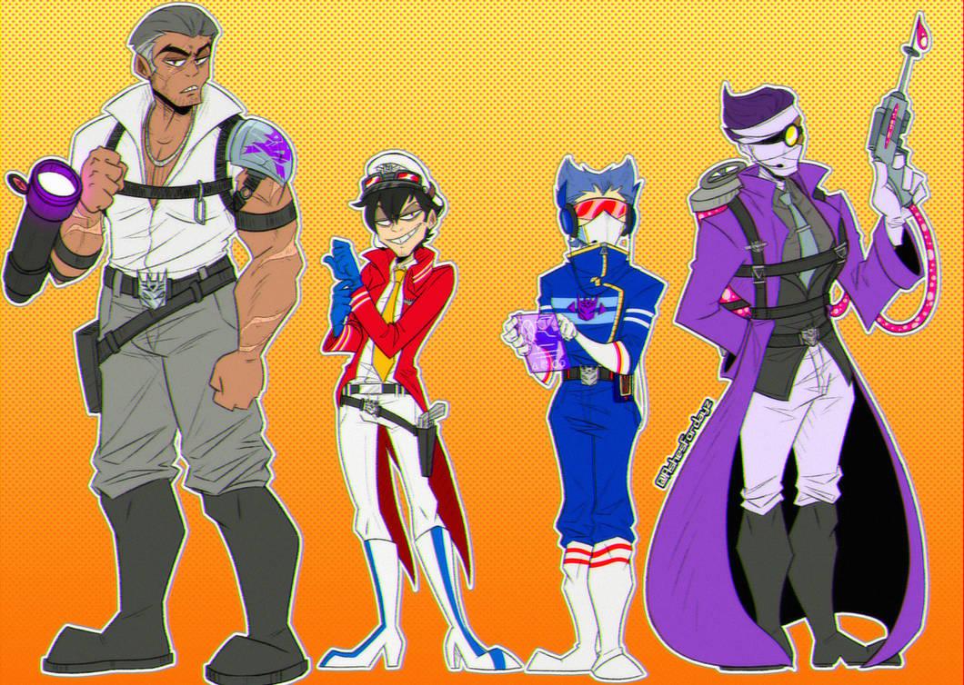 Decepticon Humanformers designs ||Transformers G1