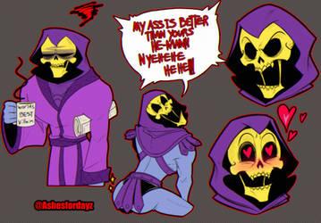 Skeletor sketches - He Man