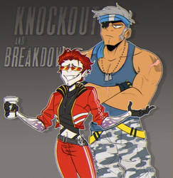 Knockout and Breakdown redraw - Humanformers