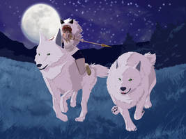 Princess Mononoke by doomDefiant