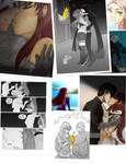 Red X/Starfire: A Love That Never Happened