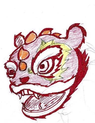Lion by cattterpillarboy