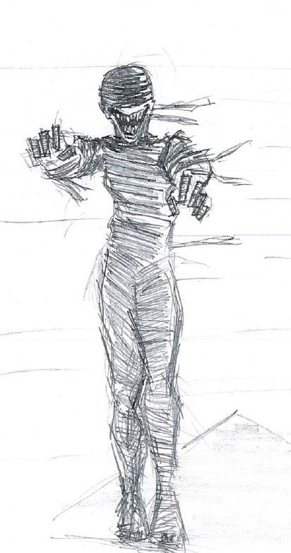The Mummy by cattterpillarboy