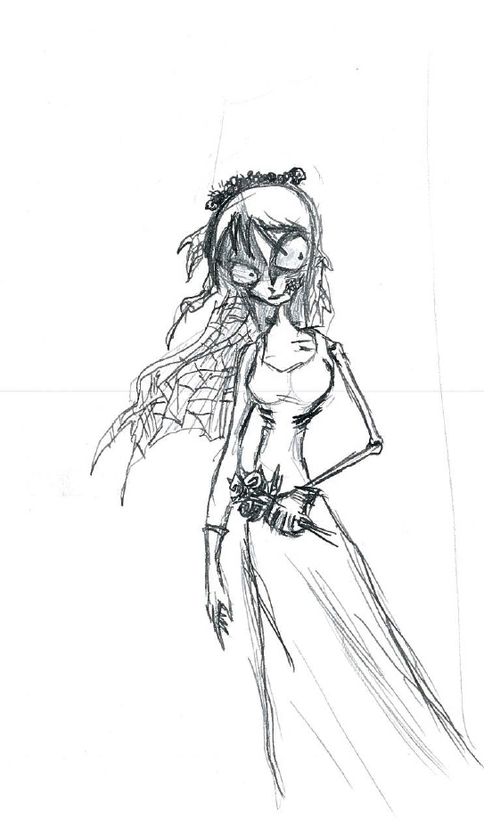 A Corpse Bride by cattterpillarboy