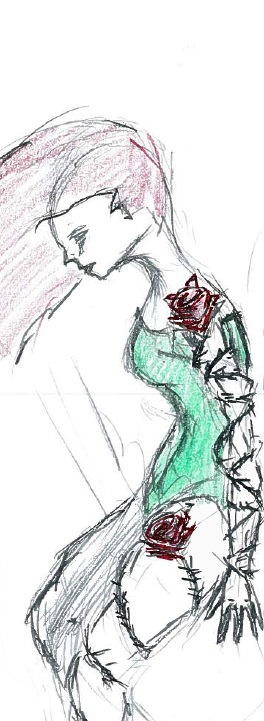 Poison Ivy by cattterpillarboy