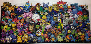 Epic All Gens Pokemon 3rd Row Done!