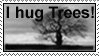 Hug Trees Stamp by Stumm47