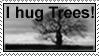 Hug Trees Stamp by Stumm47