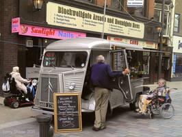 Vintage Citroen truck by Stumm47