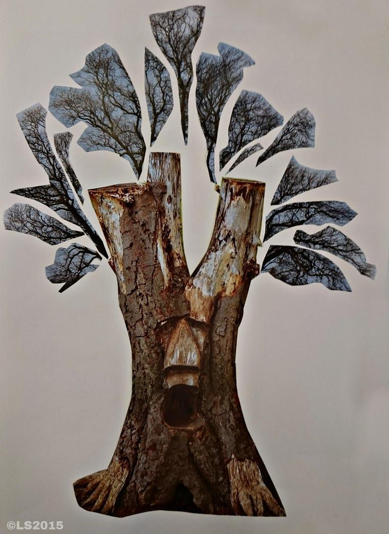 Green Man tree by Stumm47