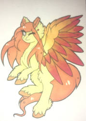 Pegasus by Kandiizambi