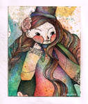Crazy Watercolors Detail by Kyaroline