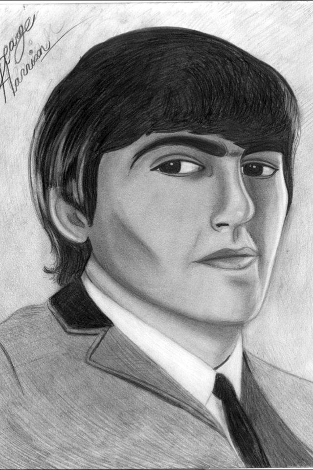 George Harrison 1964 By Georgiefan93
