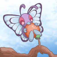 012: Butterfree by Rikkoshaye