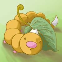 013: Weedle by Rikkoshaye