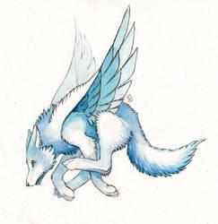 Gift: White Wolf for Cresun
