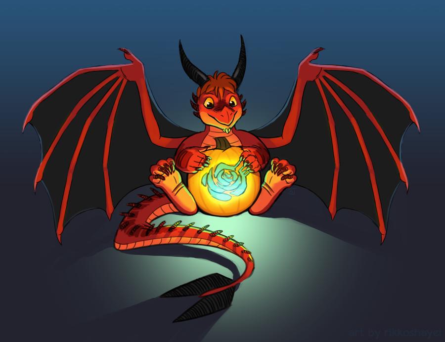 Happy Halloween!  :D by Rikkoshaye