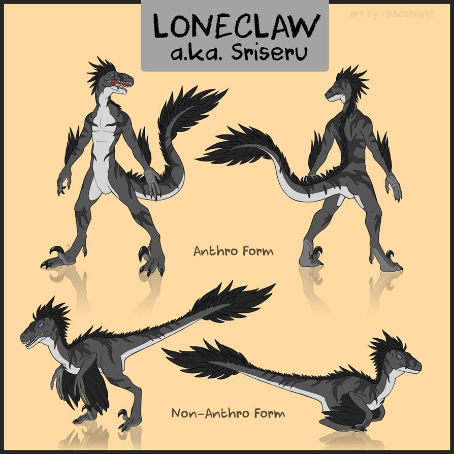 Loneclaw by Rikkoshaye