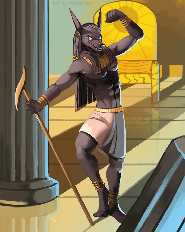 Anubis by Rikkoshaye