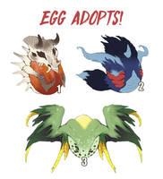 Egg Adopts! [CLAIMED] by Rikkoshaye