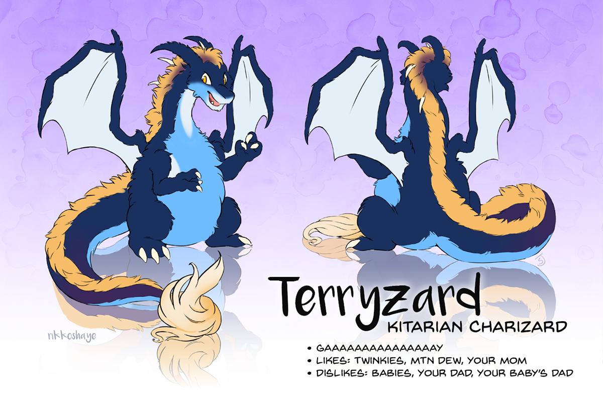 Terryzard by Rikkoshaye