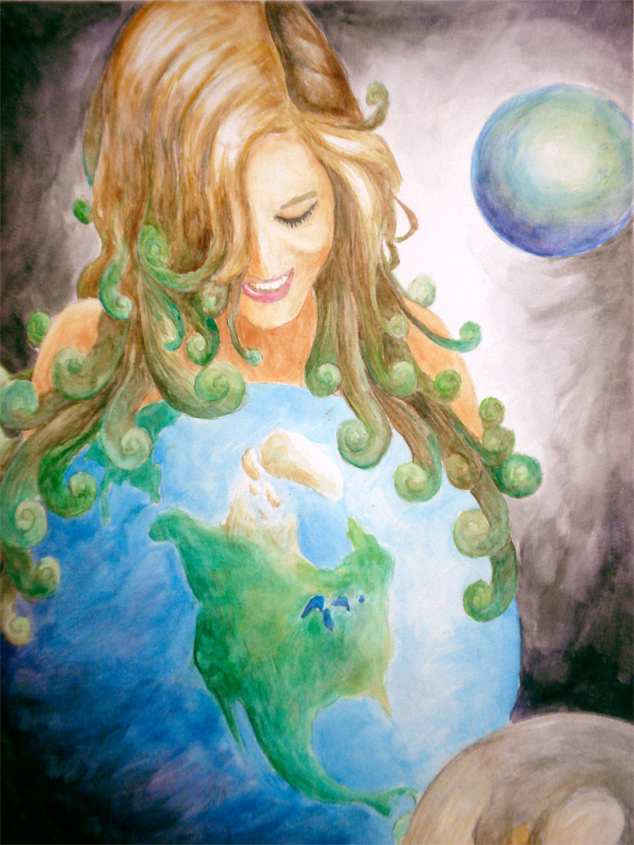Mother earth picture mother earth image Goddess of nature greek